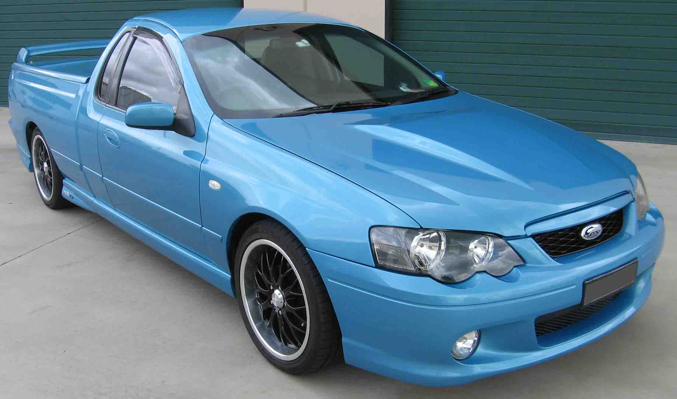 Bf Ford Falcon Paint Codes