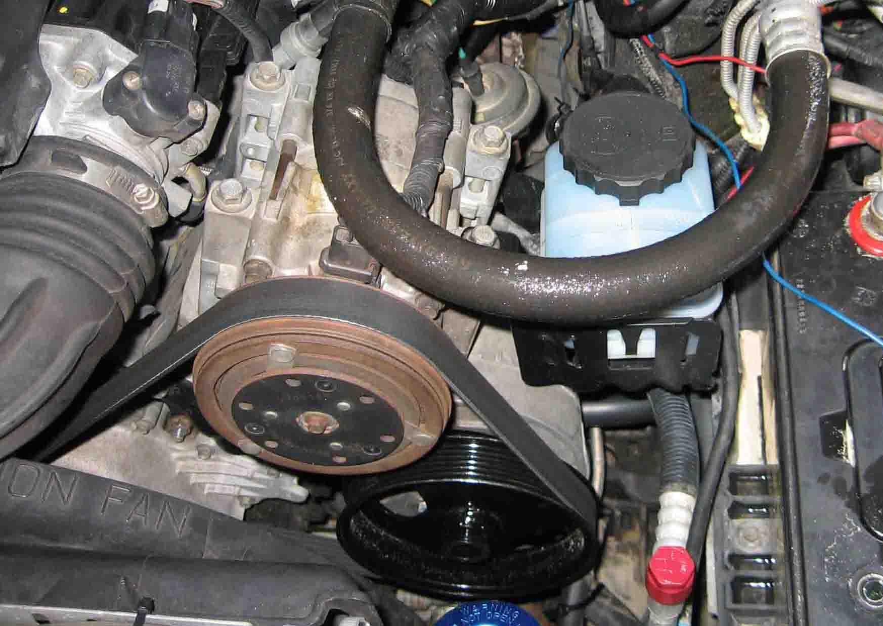 Ford Explorer Pump Conversion